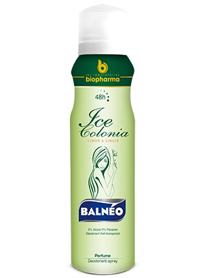 Balnéo Déodorant For Women Ice Colonia 150ml