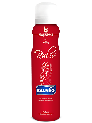Balnéo Déodorant For Women Rubis 150ml